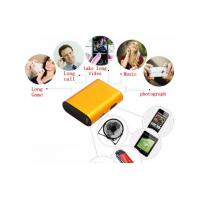 Buy LED Portable Power Bank , Gold Smart Phone Charging Station at wholesale prices