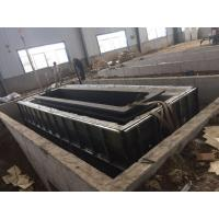 Buy Structure Pipes Hot Dip Galvanizing Line With Low Carbon Steel / Customized Size at wholesale prices