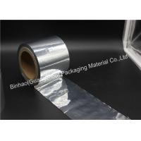 Clear Aluminized Mylar Reflective Film Roll For Cosmetic Packaging BOPP Material