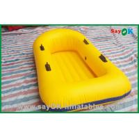 Quality Water Toys 0.7MM PVC Inflatable Boats Kids Lightweight Inflatable Boat for sale