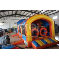 Quality Twister Detachable Obstacle Inflatable Games For kids for sale