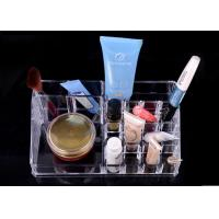 Buy Crystal Clear Nail Polish Display Desktop For Makeup Organizer at wholesale prices