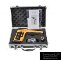 China Temperature range -30 ~ 1650℃  Safe Non contact Laser Infrared Thermometer IR1651 for sale