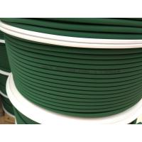 Quality Green Polyurethane Round Belt Low Compression Set For Floor / Roof Tiles Conveying for sale