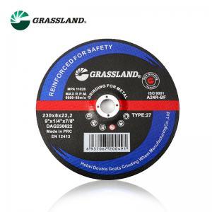 Quality 2300X6.5X22.23mm Abrasive 9 Inch Polishing Grinding Wheel for sale