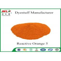 Quality Printing Series Fiber Reactive Dye Reactive Orange PE C I Orange 5 for sale