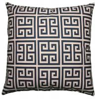 Quality Navy Blue Polyester / Fleece Pillow Cushion Covers Couch Throw Pillows Decorative Pillows for sale