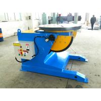 Quality Blue 5 T Pipe Welding Positioners With Turning Working Table And Speed Digital Readout for sale