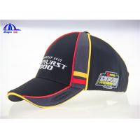 Quality Munti- Panel Polyester Embroidered Baseball Caps , Women or Man Large Baseball Hat for sale