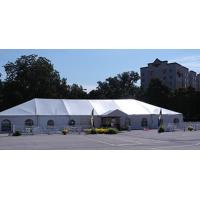 Heavy Duty Wedding Event Tents , Large Canopy Tent White Lining And Curtain for sale