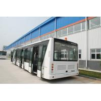 Quality 110 Passenger Airport Limousine Bus , 4 Stroke Diesel Engine Airport Coaches for sale
