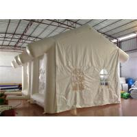 Quality Dome Hospital / Medical  Inflatable Event Tent Quadruple Stitched Fire Resistance for sale