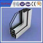 Quality Sliding open style and double glazed Aluminum Profile sliding windows for sale