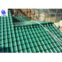 Quality Upv Asa Coated Colonial Times Synthetic Spanish Roof Tiles / Plastic Tile Roof Panels for sale