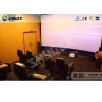 Quality Special design 5D movie theater screen projector control system for sale