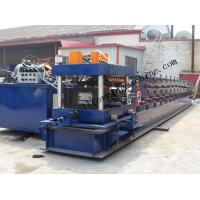 Quality Hydraulic PLC Control Purlin Roll Forming Machine , Z Purlin Making Machine for sale