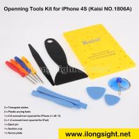 China 10 in 1 Disassemble Repair Tools with Screw Plate Kit Kaisi New - 1806A for iPhone 4,Macbook for sale