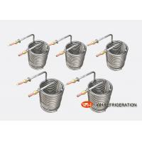 Buy cheap Water Tank Stainless Steel Heat Exchanger Coil Anti - Freezing Capability from wholesalers