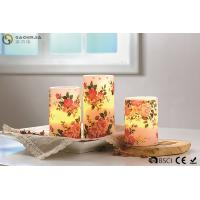 "Buy Rose Decorative Flickering Flameless Led Candles Dia 3"" x H 4"" at wholesale prices"