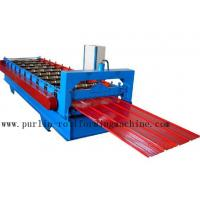 Quality Metal Trapezoidal Cold Roll Forming Machine / Roofing Panel Roll Forming Equipment for sale