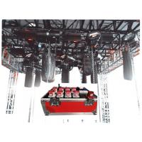 Quality Reflective And Noctilucence Eight Channel Rack Flight Case Of Motor Chain Hoist Power Case for sale