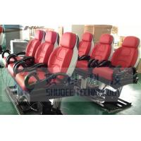 Quality 3D / 4D / 9D Motion Theater Chair Custom Color with Safe Belt for sale