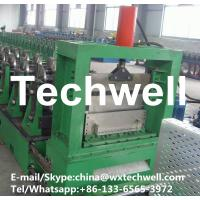 China Q235 Cold Rolled Strip or Hot-dip Galvanizing Steel Strip Cable Tray Profile Roll Forming Machine on sale