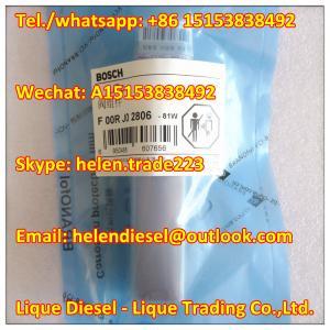 Quality original BOSCH Valve F00RJ02806 , F 00R J02 806 , Exchange F00RJ01704,Fit 0445120083 0445120110 0445120156 0445120165 for sale