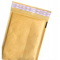 China Brown Kraft Padded Envelopes , Custom Printed Bubble Mailers With Cushion for sale