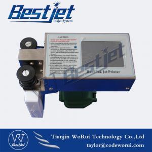 Quality BESTJET Automatic Handheld Bottle Box Expiry Date Inkjet Printer for sale