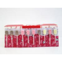 Buy Compressed Cow Shape Chewy Milk Candy Lollipop Mix Strawberry & Chocolate Flavor at wholesale prices