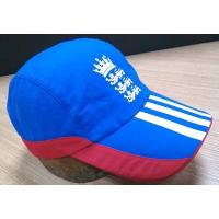 Quality 2019 New Style 100% Cotton Golf Cap , Navy And Red Fitted Golf Hats Waterproof for sale