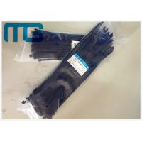 Quality UV Resistant Locking Cable Ties Natural Nylon Cable Ties With Length Custom for sale