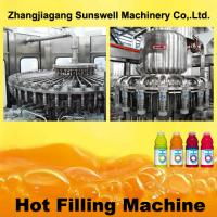 Buy cheap PET Bottle Hot Filling Machine 5000BPH - 20000BPH With 500 L/Min Air Consumption from wholesalers