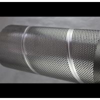 316 316L Perforated Stainless Steel Exhaust Tubing Welded Punched Heat Resisting