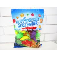 Quality Multi Fruit Flavor Sour Powder Candy With Fruit Shape Packed In Bag Yummy And Lovely for sale
