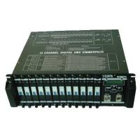China DMX Dimmer Pack 12 Channels Digital Dimmer Pack Stage Light on sale