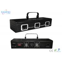 Quality 3 Head Laser Stage Light For DJ / Disco / Christmas / Party / Wedding for sale