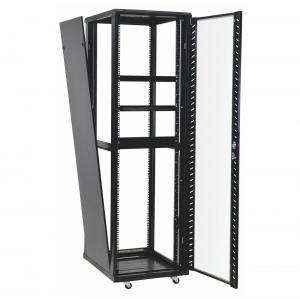 Quality 42u 37u Perforated Door Network Equipment Rack Floor Standing Data Center Cabinet for sale