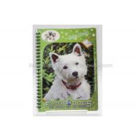 Quality 3D PET/PP/PVC Notebooks 3d Lenticular Cover A6 Jotter For Gift / Premium for sale
