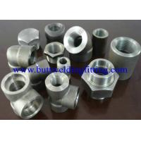 Quality Steel Forged Fittings A182 F51, F52 , F53 , F55 , Elbow , Tee , Reducer , Nipple, 3000LB  ANSI B16.11 for sale