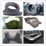 Quality Large Bearing Bracket of Steel Casting with Finished Machining for sale