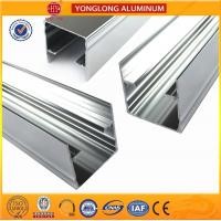Quality Mechanically Polished Aluminum Profiles High Surface Brightness Black for sale