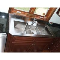 Quality Custom Stainless Steel Parts Metal Kitchen Sink , Stainless Steel Fabrication For Household Tool for sale