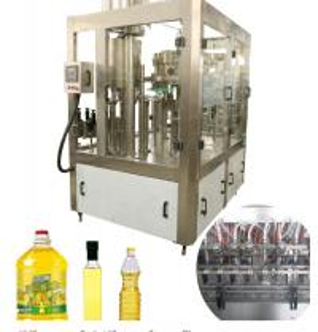 China 3000 BPH-18000 BPH Edible Oil Production Line PET Bottle Vegetable Oil Filling Machine on sale
