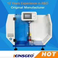 Buy cheap 80KG Stainless Steel Electronic Impact Plastic Testing Machine 560* 300* 840mm from wholesalers