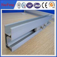 Quality Anodized Aluminum Extrusion Solar Rail for Solar Mounting System from china supplier for sale