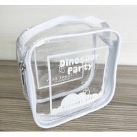 Quality 100% handmade Transparent PVC Reusable Ziplock Bags 14*14*7 CM for sale