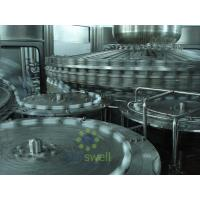 Quality High Pressure Hot Filling Machine , Glass Bottled Juice Production Machine for sale