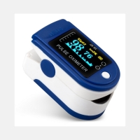 China CE and FDA approved finger pulse oximeter with OLED display and spO2 sensor detecing pulse rate and blood saturation on sale